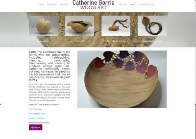 Catherine Gorrie Wood Art